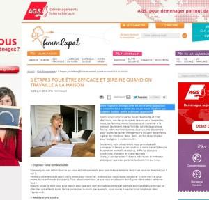 5 étapes pour être efficace et sereine quand on travaille à la maison – www.femmexpat.com