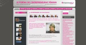 Mon interview par Maite, fondatrice de www.entrepreneure.fr