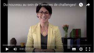 Du nouveau au sein de Femmes de challenges!