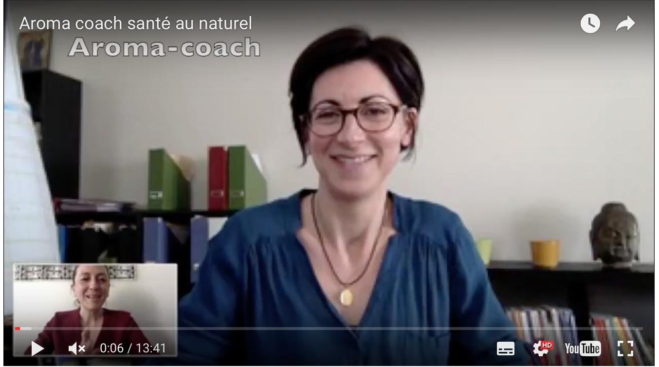 Mon interview par Nathaly Villegas, Aroma-Coach