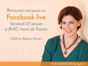 Réussir au féminin - Facebook live - Vendredi 27 janvier 2017